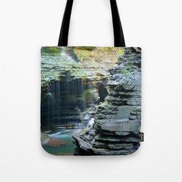 Rainy Glen Tote Bag