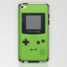 GAMEBOY Color - Green iPhone & iPod Skin