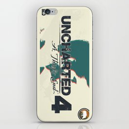 Uncharted 4   Nathan iPhone Skin