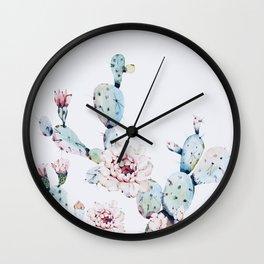 Fresh Cactus II Wall Clock