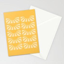 Sunshine Window Pattern | Cartagena, Colombia - Yellow Stationery Cards