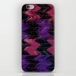 Dark Chevron  iPhone Skin