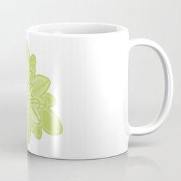Overlapped Star Leaves Illustration Coffee Mug