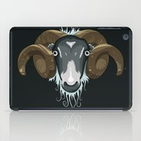 ram iPad Cases featuring Ram by Compassion Collective