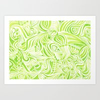 jojo Art Prints featuring #50. JOJO by sylvieceres