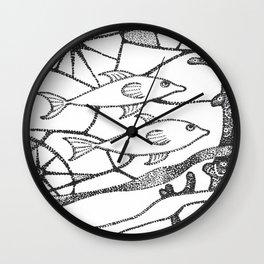 fish1 Wall Clock