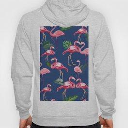 Flamingos Love Pattern 8 Hoody