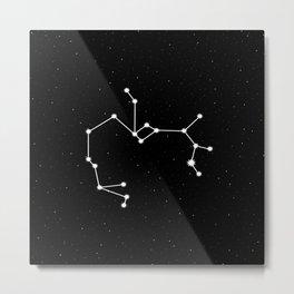 Sagittarius Astrology Star Sign Metal Print