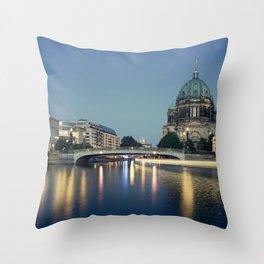 Berliner Dom 2. Throw Pillow