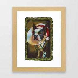 Bah HumBoston Framed Art Print