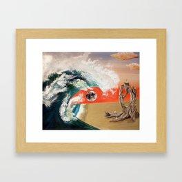 Hypnagogic Plane Framed Art Print
