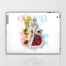 The Queen Laptop & iPad Skin