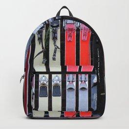 Skis with Bindings Backpack