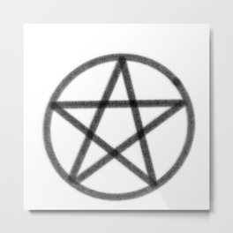 Pentagram of Prtection Metal Print