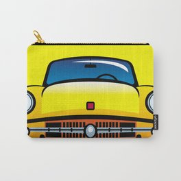 Vintage yellow car Carry-All Pouch