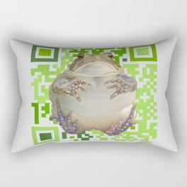 EcoQR Toad Rectangular Pillow