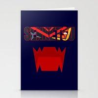 kill la kill Stationery Cards featuring Senketsu - Kill La Kill by feimyconcepts05
