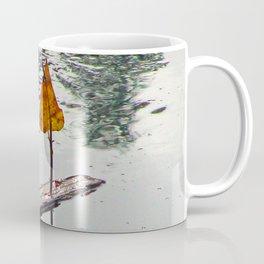 Leaf Sail Boat Coffee Mug
