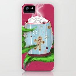 Christmas mug iPhone Case