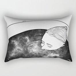Peaceful minds. Rectangular Pillow