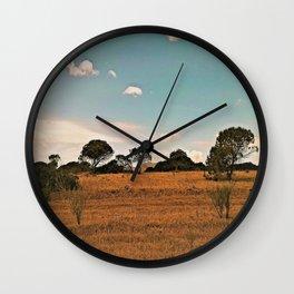 wildness Wall Clock