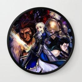 Fate Zero Wall Clock