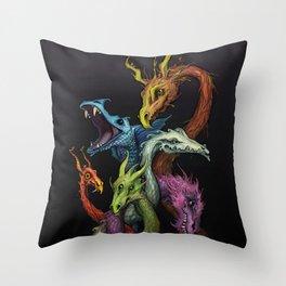 Serpents Throw Pillow