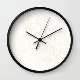 Decorative flowers 31 Wall Clock