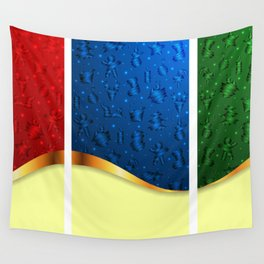 Christmas banners Wall Tapestry