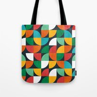pie Tote Bags featuring Pie in the sky by Picomodi