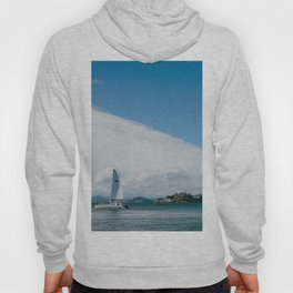 Ships Around Alcatraz // San Francisco, California Hoody