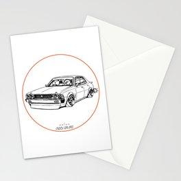 Crazy Car Art 0204 Stationery Cards