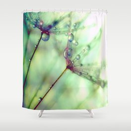 Wish With All Your Heart Shower Curtain
