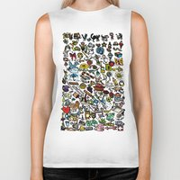 the 100 Biker Tanks featuring 100 things by Michelle Behar