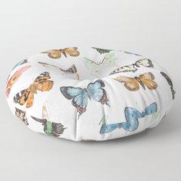 Butterflies & Moths Floor Pillow