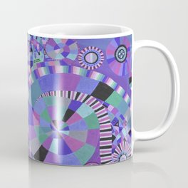 "Moo's mom's art print ""Purple Zen"" Coffee Mug"