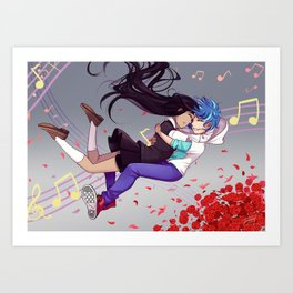Our melody Art Print