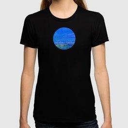 Blue landscape I T-shirt