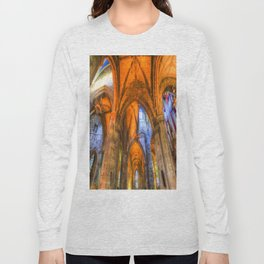 St Giles Cathedral Edinburgh Scotland Long Sleeve T-shirt