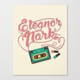 Eleanor and Park Canvas Print