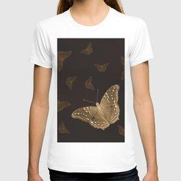 Butterflies in the dark T-shirt