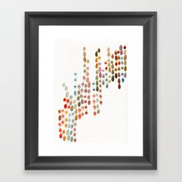 The Conversation (his side) Framed Art Print