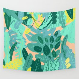 Flora Nature Forest Tropical Wall Tapestry