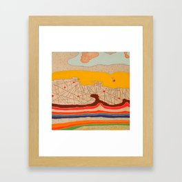 obstructions Framed Art Print