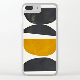 abstract minimal 23 Clear iPhone Case