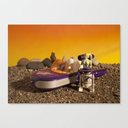 Pimp Speeder Canvas Print