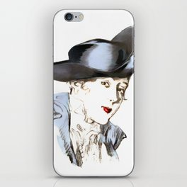 Hat from bygone Era iPhone Skin