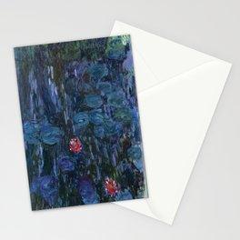 Claude Money's Nympheas Reflets de Saule Stationery Cards