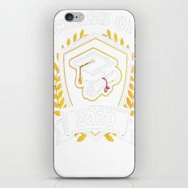 Class-of-2030---Class-of-2030-Graduation-T-Shirt iPhone Skin