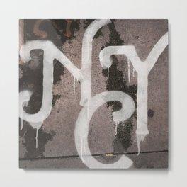 NYC Mystery Liquids Series 3 Metal Print